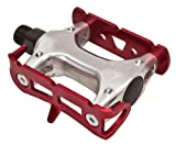 """Origin8 Pro Track Light Pedals, 9/16"""", Annodized Red Review and Comparison"""