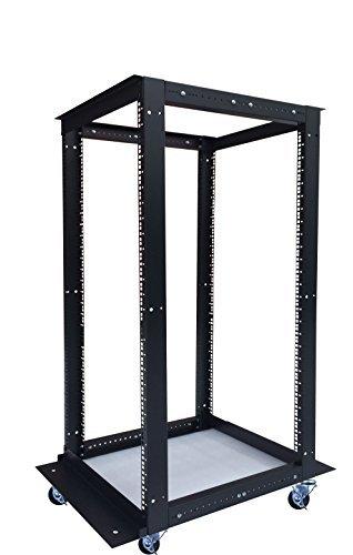 18U 4 Post Open Frame 19'' Network Server Rack Cabinet Adjustable Depth 24''-37'' by Sysracks (Image #3)