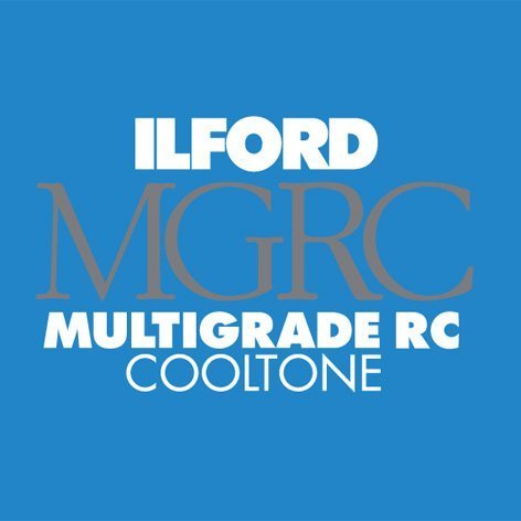 Ilford Multigrade Cooltone Resin Coated (RC) Black & White Paper (8 x 10', Pearl, 100 Sheets) [並行輸入品]   B01N36LNGB