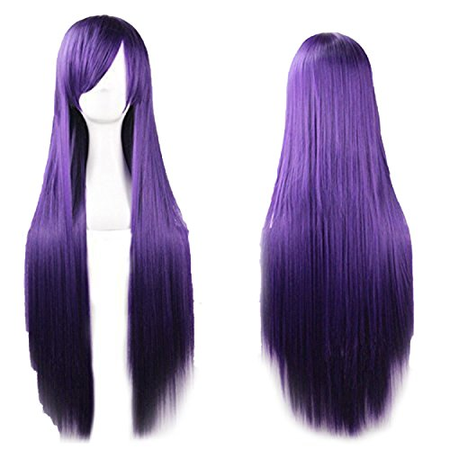 [D2C Beauty Women's Long Straight Cosplay Costume Wigs Hair Extension 32