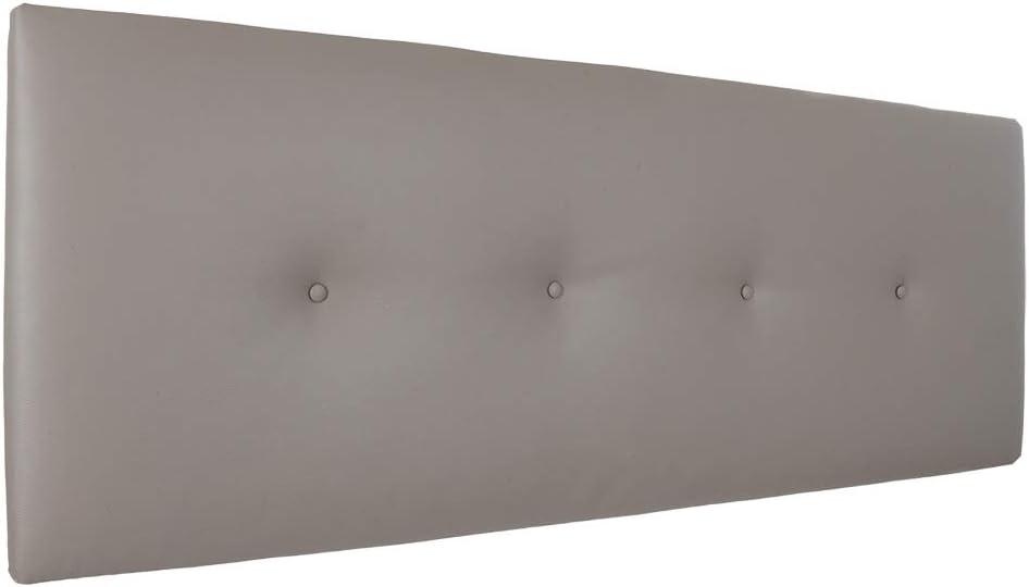 rembourrage ancrages inclus 145 cm ou 160 cm Silcar Home T/ête de lit tapiss/ée en similicuir mod/èle Silvi Dimensions 90 cm transport inclus 105 cm 115 cm