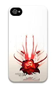 iphone 4S PC case Love and everlasting motion 3D Case for Apple iPhone 4/4S