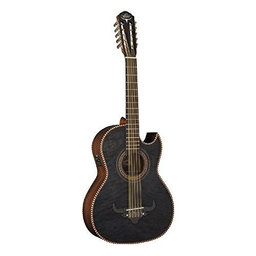 Oscar Schmidt OH32SEQTB Acoustic-Electric Bajo Quinto wit...