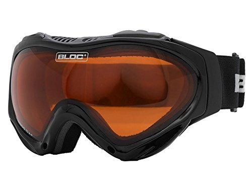 Bloc Hawk Ski / Snowboard Goggle (Black) by Bloc 28