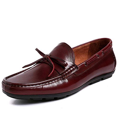 Shoes Size Dress Shoes Uomo Large Shoes Rosso MYI Shoes Driving Scarpe Casual Lazy Business Feet Low Comode da 8Innaq6