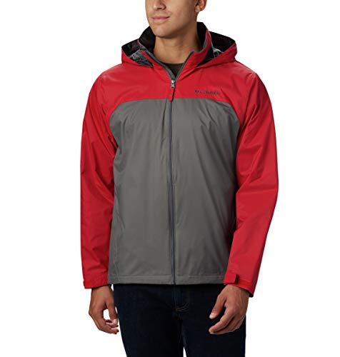 Columbia mens Glennaker Lake Lined Rain Jacket, Waterproof & Breathable