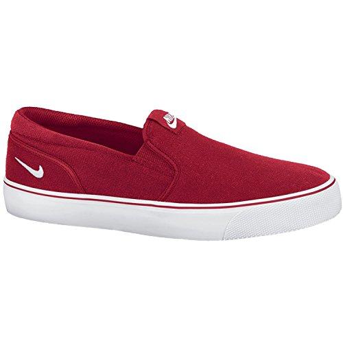 Nike Men's Toki Low Slip-on Fashion Sneakers, Red, 7.5