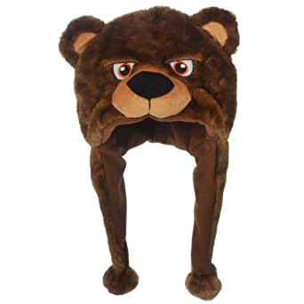 NFL Chicago Bears Thematic Mascot Dangle Hat