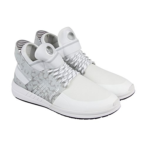 (Supra Men's Skytop V White/White Athletic Shoe )