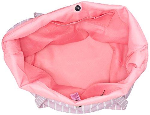 Tracolla A Aurora Rosa Donna Pezzi nero Rosa Canvas Shopper Borsa Pcdarla YTqX7x