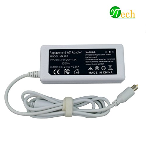Apple Ibook Dual Usb (YTech 65w 24.5V 2.65A AC Adapter Charger Power for Apple Powerbook Book/ iBook G4 15 inch 17 inch A1021 A1133 M4328 M8943 M8943LL/A white)