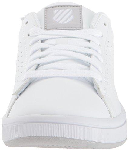 K-Swiss Womens Court Casper S Sneaker White/Gull Gray NWmRXUf