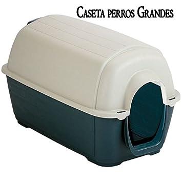 CASETA de PLASTICO para PERROS GRANDES. Medidas: largo 100 x ancho 70 x alto