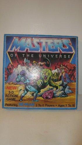 Vintage 1983 He-man 3d Action Game By Golden Mattel