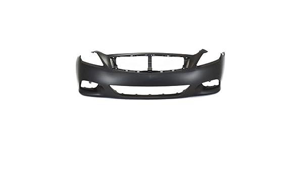 New PRIMED BLACK Front BUMPER For Honda Civic HO1000184 04711S01A01ZZ