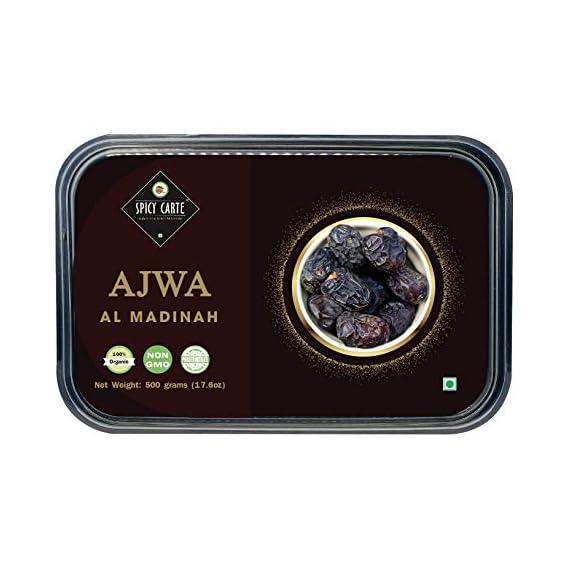 Spicy Carte Holy Ajwa Al Madinah Dates, 500gm