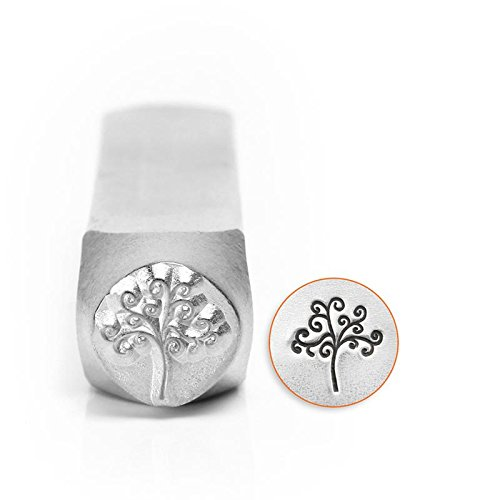 ImpressArt- 6mm, Tree of Life Metal Stamp SC156-AQ-6MM