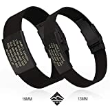 Road ID Bracelet - Official ID Wristband - Silicone