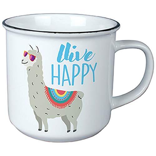 """Carson""""Llama"""" Vintage Mug"""