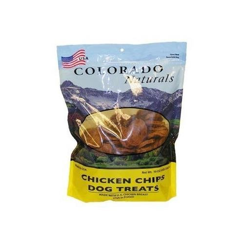 Colorado Naturals Chicken Chips Dog Treats 16 oz. Chicken