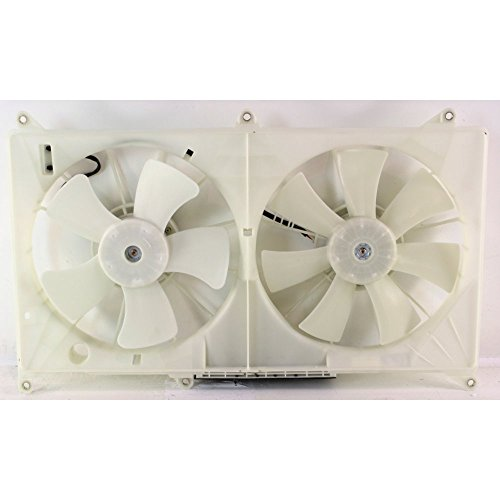 Cyl Cooling Radiator 6 Fan (Radiator Fan Assembly for GS300 98-05 6 Cyl/8 Cyl)