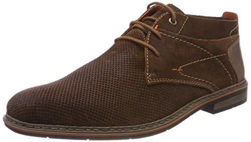Rieker B1724-20 Chaussures de Ville Homme Noir - Noir MbZG05CXh
