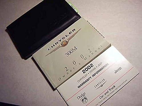2002 chrysler 300m owners manual chrysler amazon com books rh amazon com 2002 chrysler 300m owners manual pdf 2002 chrysler 300m special owners manual