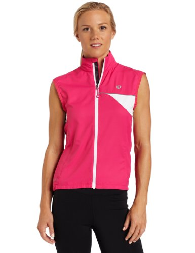 (Pearl Izumi Women's Elite Barrier Vest, X-Small, Pink Punch)