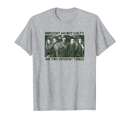 Arrow TV Series Not Guilty T Shirt (Dc Arrow Shirt)