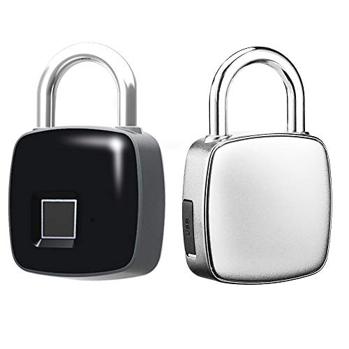 Careful Small Smart Fingerprint Security Electronic Backpack Luggage Cabinet Door Lock Padlock Security & Protection