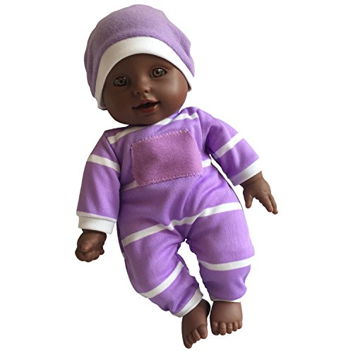 ": 11 inch Soft Body Doll in Gift Box - 11"" Baby Doll (African American)"