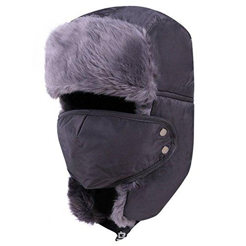 [WSHINE Unisex Winter Outdoor Cold Hat Riding Hat Winter Windproof Waterproof Ski Hat (5)] (Duckbill Costume Pattern)
