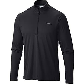 Columbia Men's Midweight II Long Sleeve Half Zip Black Sweatshirt XL