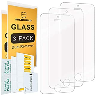 Mr.Shield-[3-Pack for iPhone SE (2016 Edition ONLY) / iPhone 5/5S / iPhone 5C [Tempered Glass] Screen Protector with Lifetime Replacement