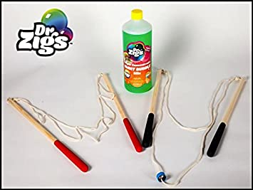 Dr Zigs Pompas de jabón gigantes - Jumbo kit para niños Extraordinary Bubbles