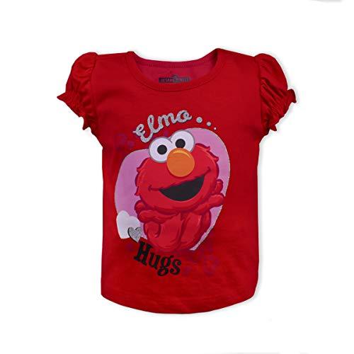 Sesame Street Girls T-Shirt: Elmo & Cookie Monster -