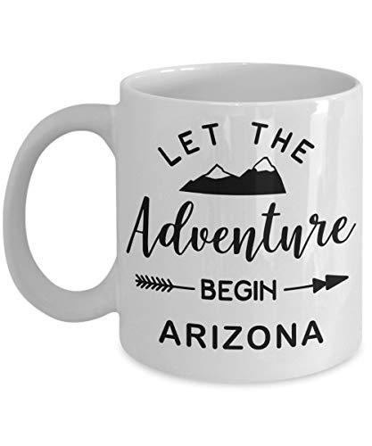 Arizona Coffee Mug - Unique Novelty Themed Souvenir Gift Idea for Women Or Men -
