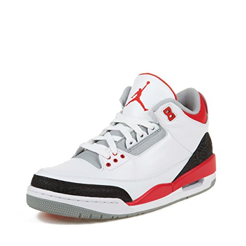 low priced 0b4ea ffe07 low price white black mens air jordan retro 3 shoes e348a 7138d