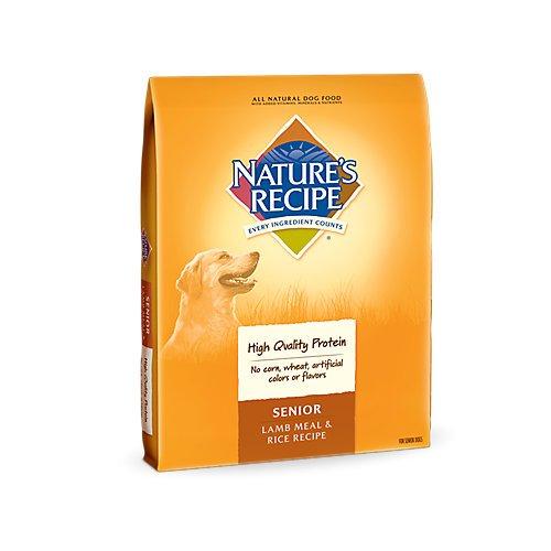 Natures Recipe Lamb/Rice Senior Dry Dog Food