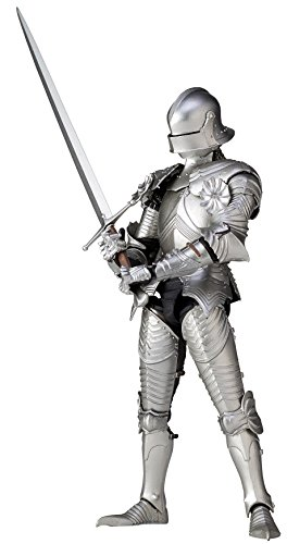 (KT Project KT-021 Takeya Style Freestyle Ornament 15th Century Gothic Formula Field Armor (Silver) Action Figure)