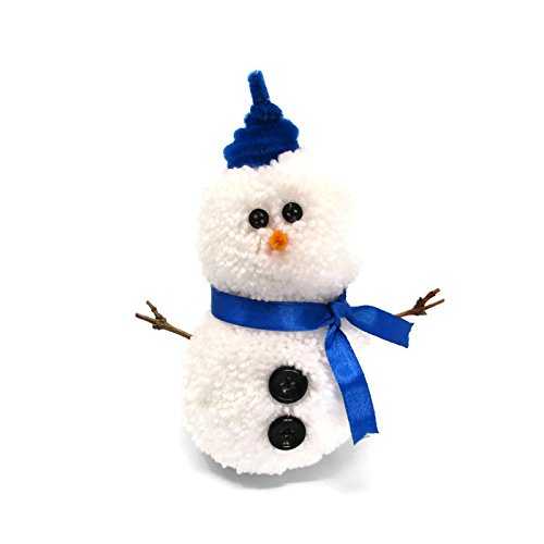 Christmas Snowman Pompom Kit