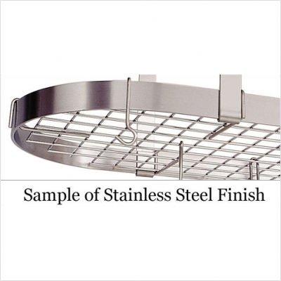 Enclume PR18-36 HS Premier 36-Inch Ceiling Bar, Hammered Steel by Enclume