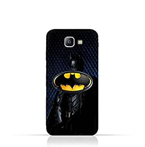 Samsung Galaxy A9 Pro TPU Silicone Protective Case with Batman Design