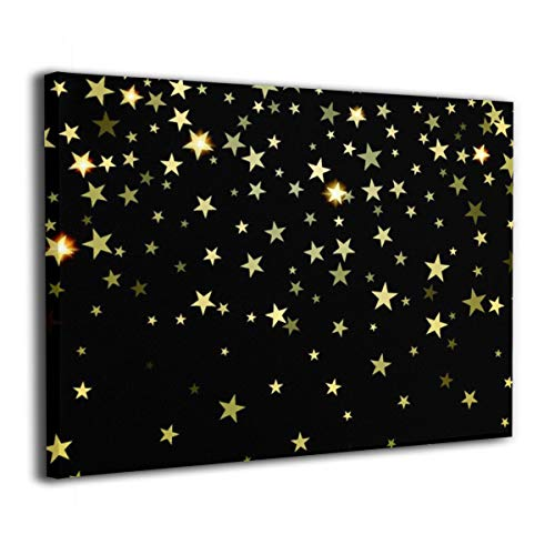 Canvas Wall Art Framed Inside Starry Sky.png Paintings