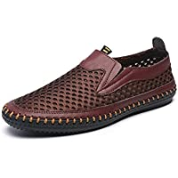 MIXSNOW Men's Water Shoes Mesh Casual Walking Shoes Slip-On Loafers