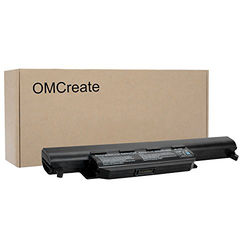 OMCreate Battery Compatible with Asus U57A K55A K55VD K55VM K55N K55 A55A X55A X75A X55U X55C X55V R500A R500V, fits P/N A32-K55 A33-K55 A41-K55