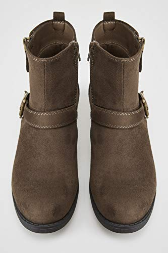 Buckled Fit Wide Yours Women's Brown Boots Clothing In Ankle Fit Eee qICSR