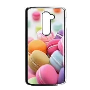 LG G2 Macaron Phone Back Case DIY Art Print Design Hard Shell Protection HGF050162