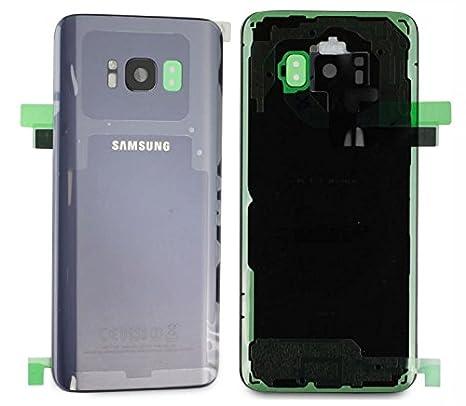 Original Samsung Galaxy S8 g950 F G950 batería tapa trasera y tapa de batería Cover Carcasa Púrpura Orchid gris GH82 – 13962 C