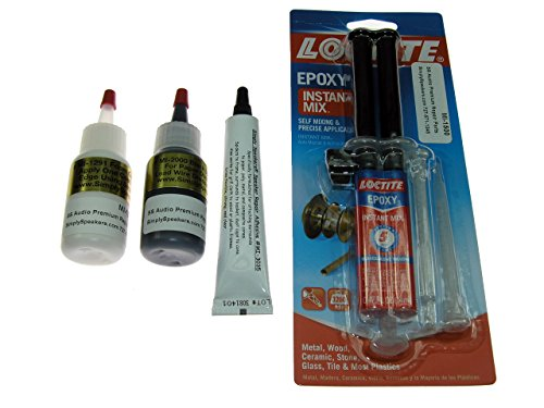 Speaker Repair Adhesive, Recone Kit Combo Pack, MI-COMBO